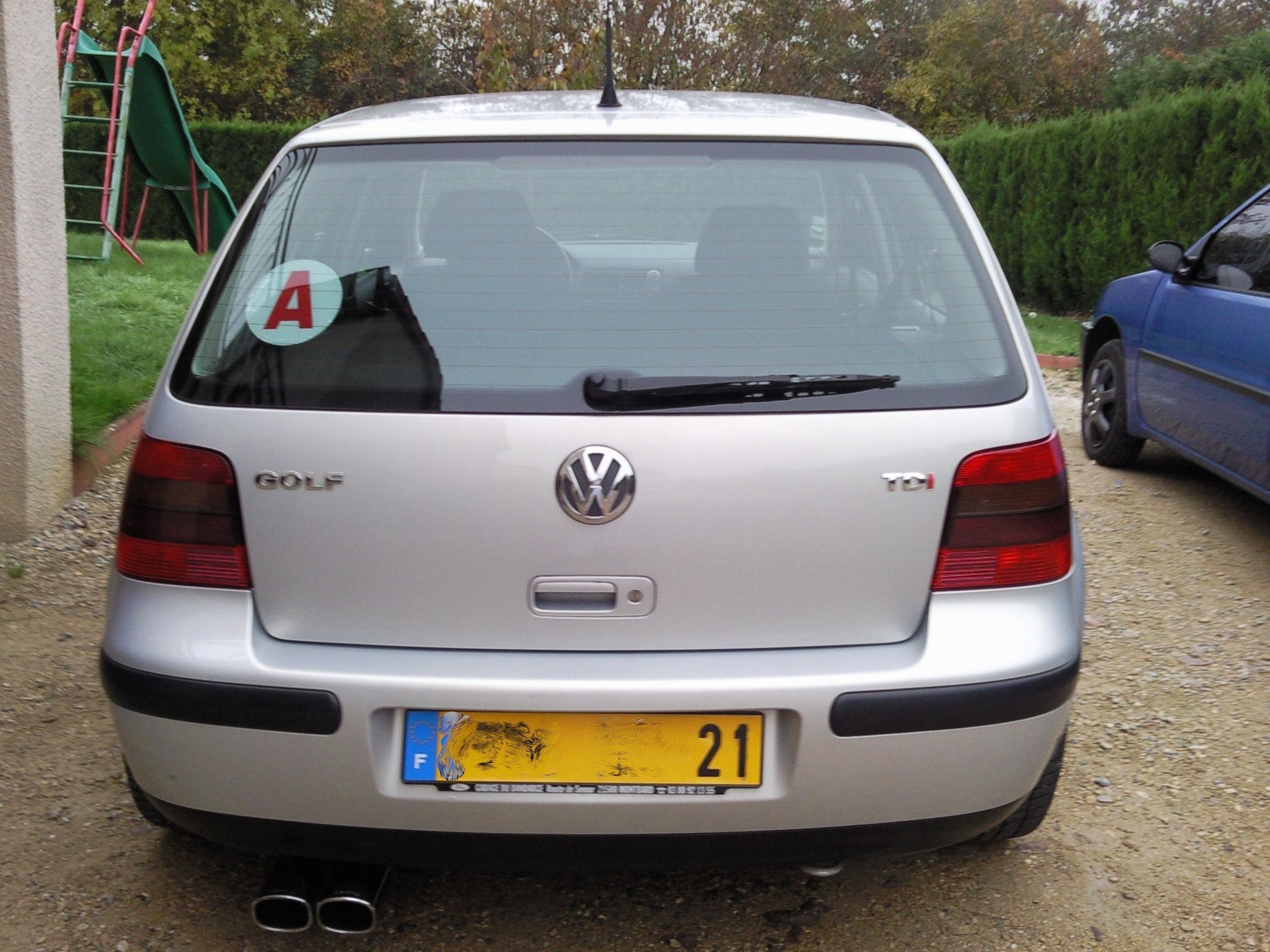 Golf iv jubi tdi 11o de rosti21 vendue garage des golf for Garage volkswagen munster