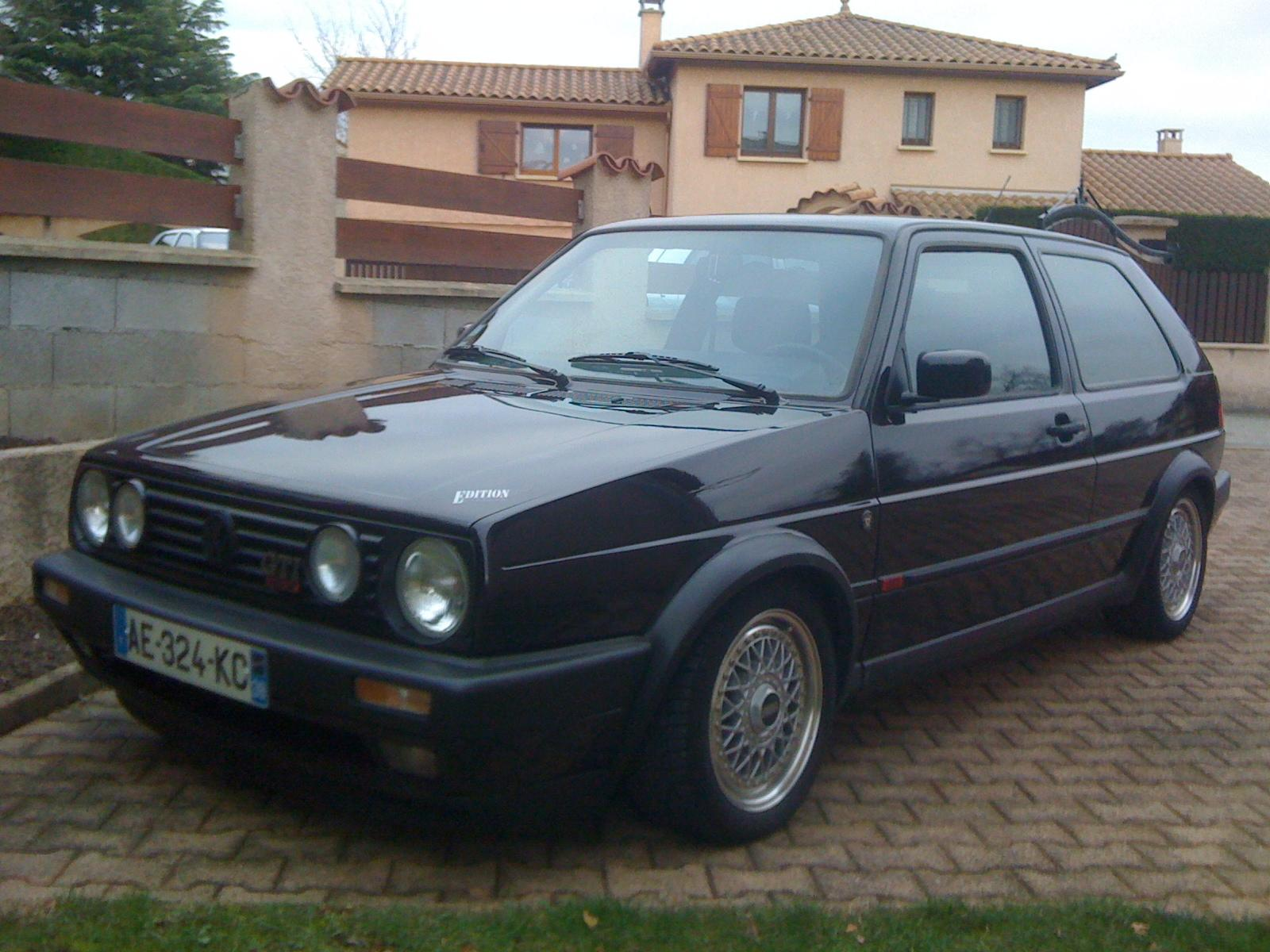 vw golf 2 gti 16s edition one 1991 autres v a g forum volkswagen golf iv. Black Bedroom Furniture Sets. Home Design Ideas