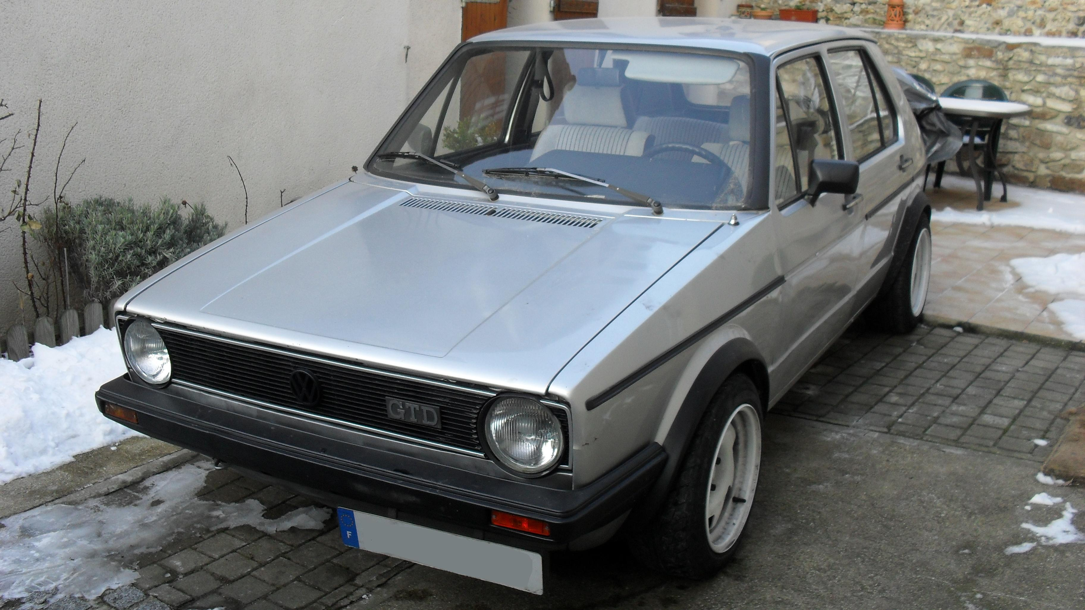 vw golf one 1 6 gtd 1983 de dawazou vendue autres v a g forum volkswagen golf iv. Black Bedroom Furniture Sets. Home Design Ideas