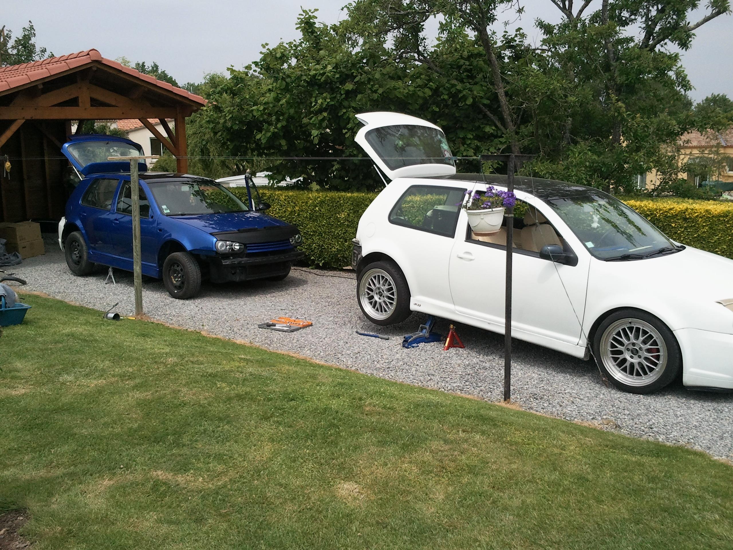 Mk4 by julienvw vendu garage des golf iv 1 6 1 6 for Garage volkswagen 33