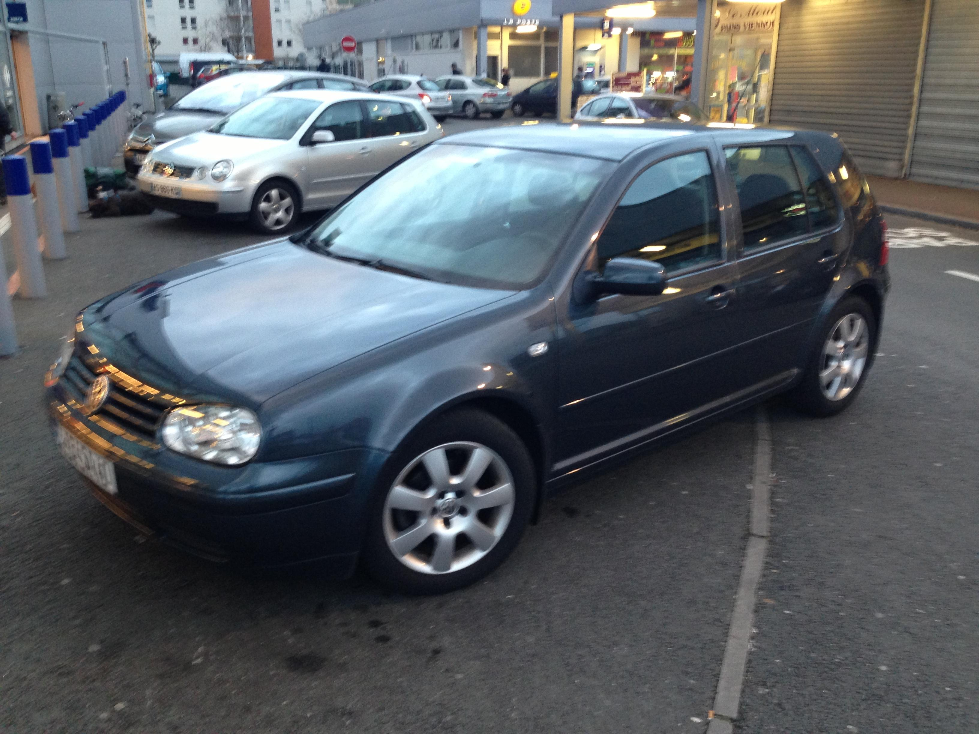 vw golf iv  tdi 100 match 2 - 2003