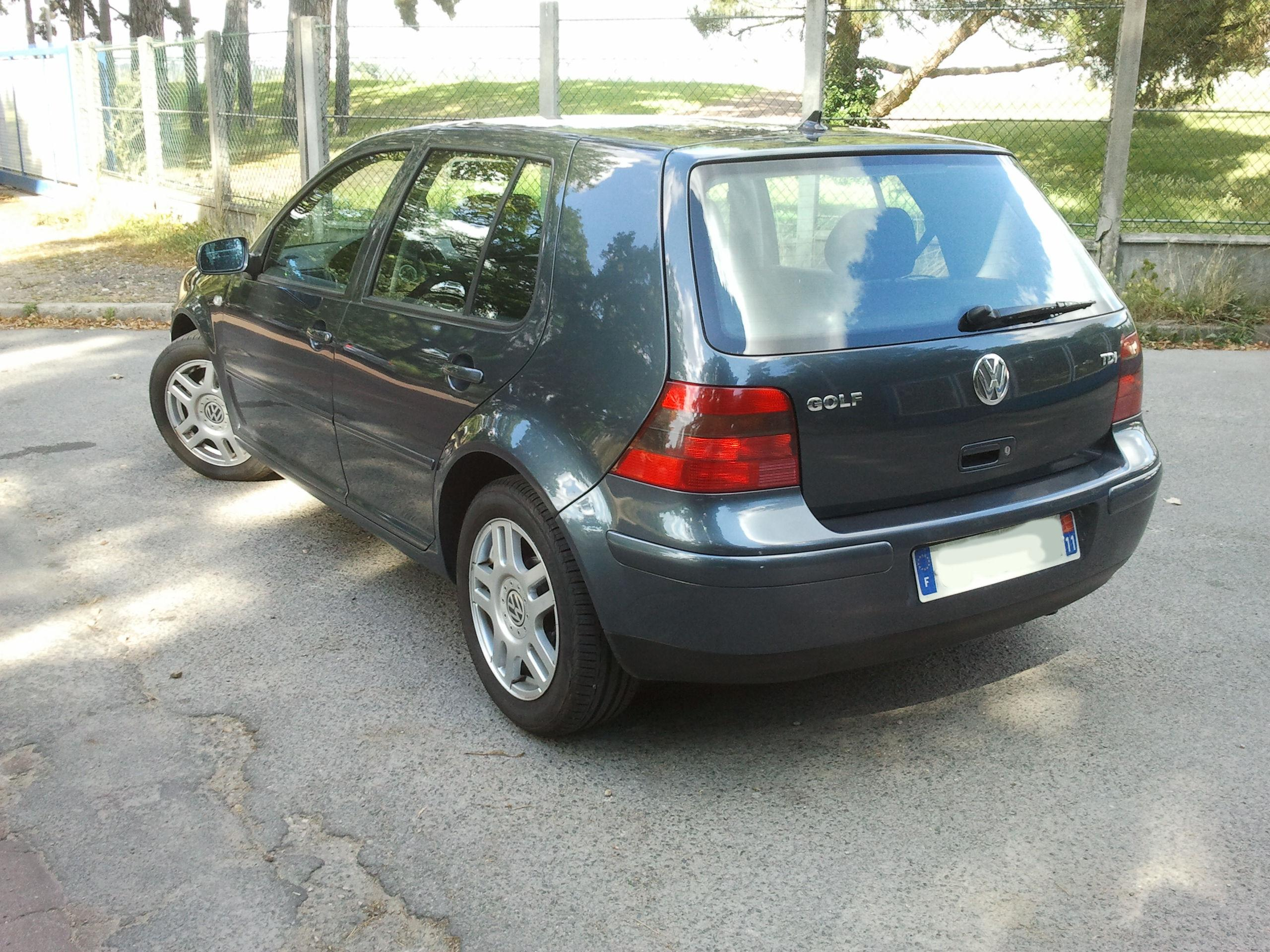 vw golf iv  tdi 110 confort