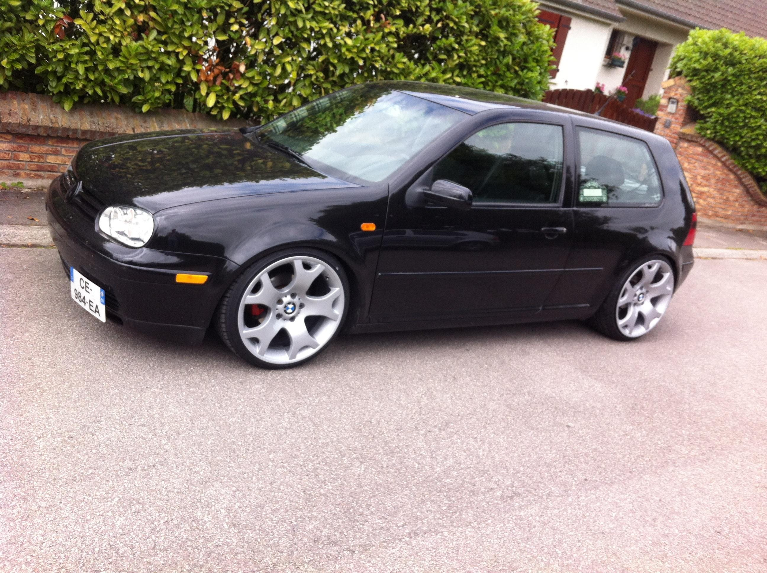 vw golf iv   tdi 100 carat us air ride oz mae 3partie
