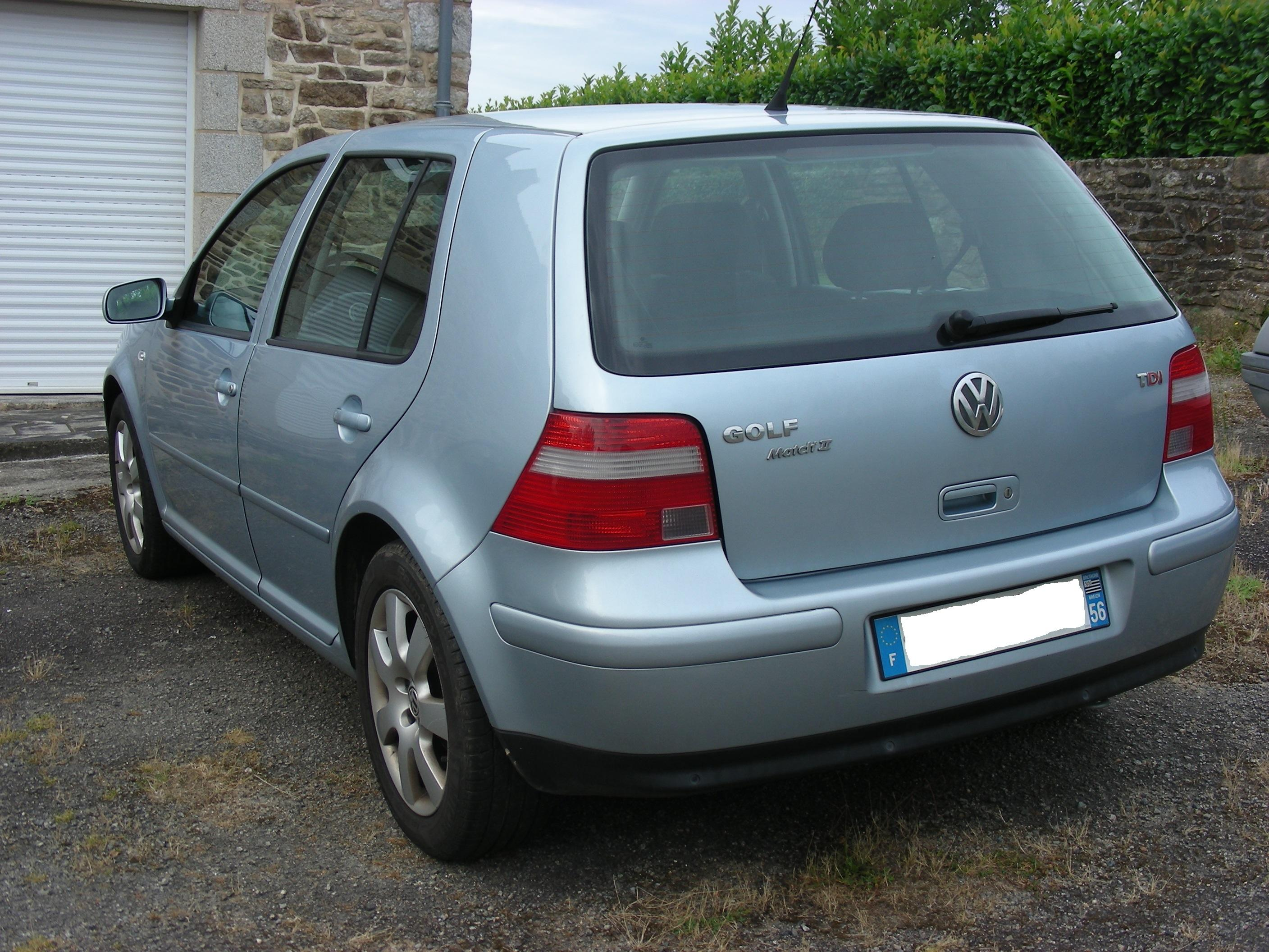 golf iv  tdi 130 match ii 2003