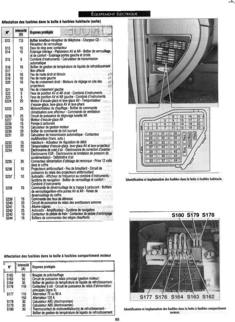faisceau n75   probl u00e8mes electriques ou electroniques