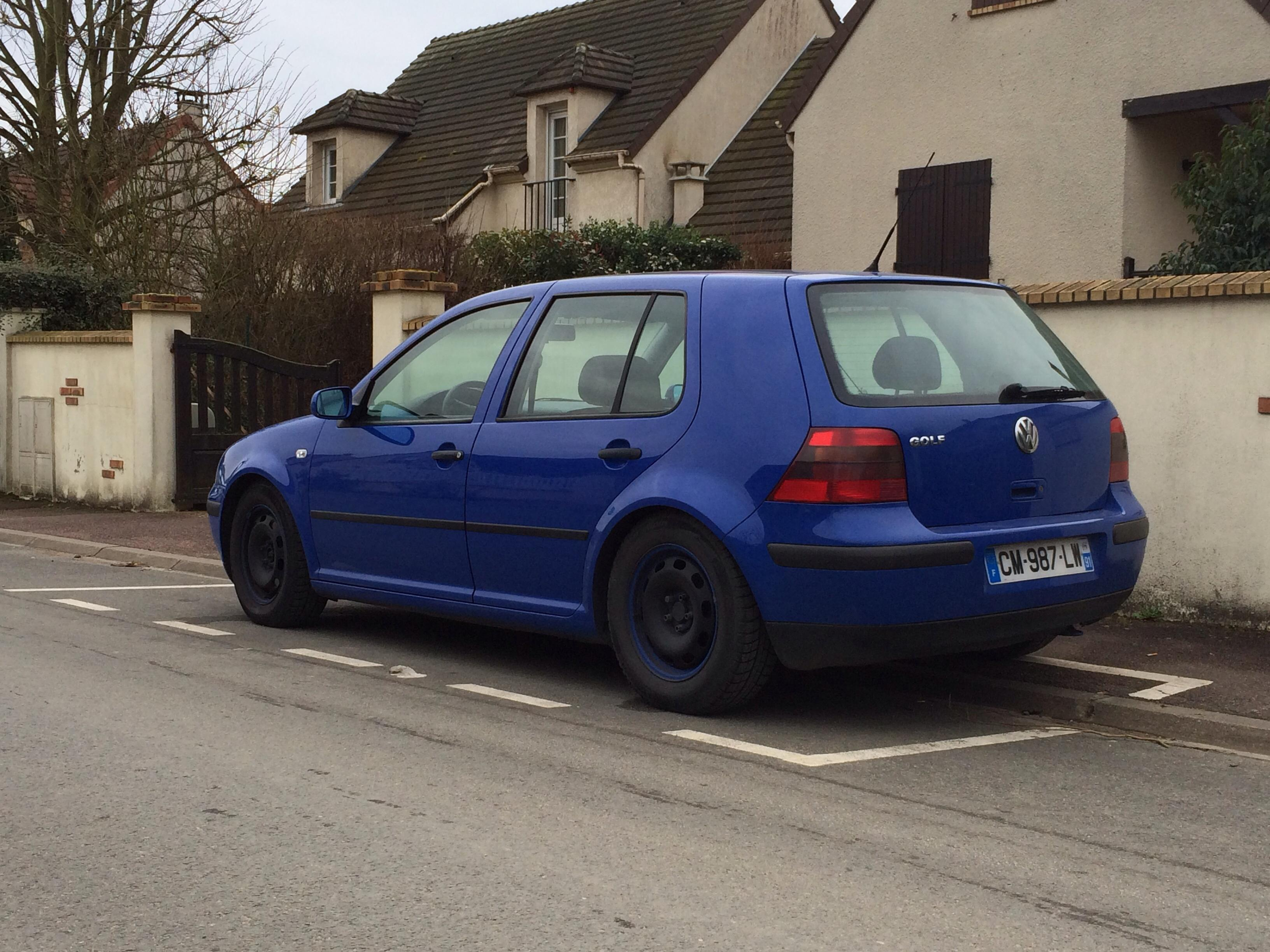 vw golf iv  tdi 100 confort