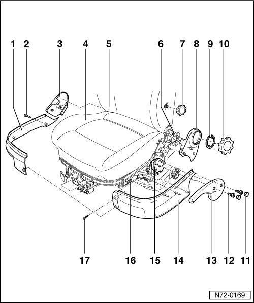 probl me r glage hauteur si ge conducteur probl mes int rieurs forum volkswagen golf iv. Black Bedroom Furniture Sets. Home Design Ideas