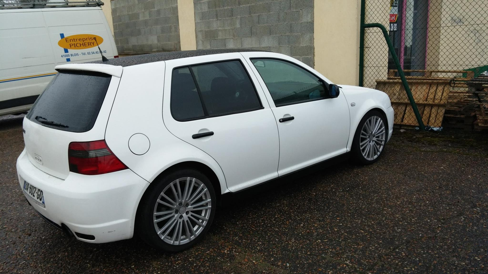 vw golf iv  tdi 115 r32