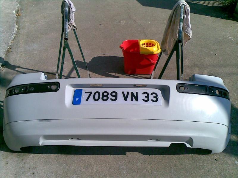 Golf 4 tdi 115 mise en peinture de mon pare choc arri re garage des golf iv tdi 115 forum for Peindre a la bombe