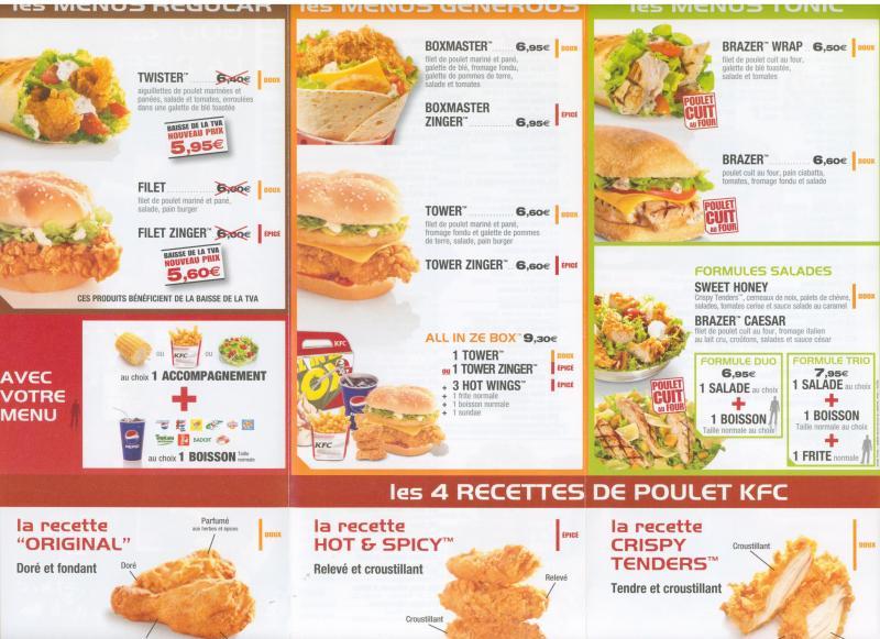 Restaurant Avec Menu  Euros