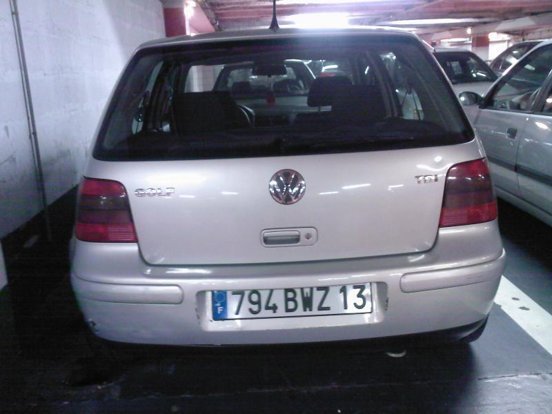 golf iv tdi 110cv de walid marseille garage des golf iv tdi 110 forum volkswagen golf iv. Black Bedroom Furniture Sets. Home Design Ideas