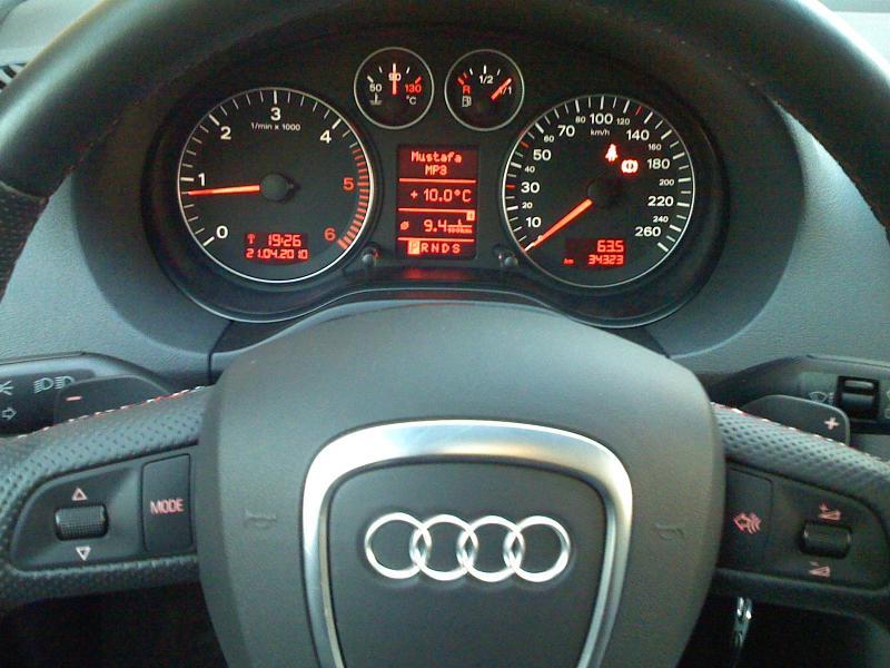 Audi a3 sportback 2l 170cv stronic sline 2007 autres for Audi a3 onderdelen interieur