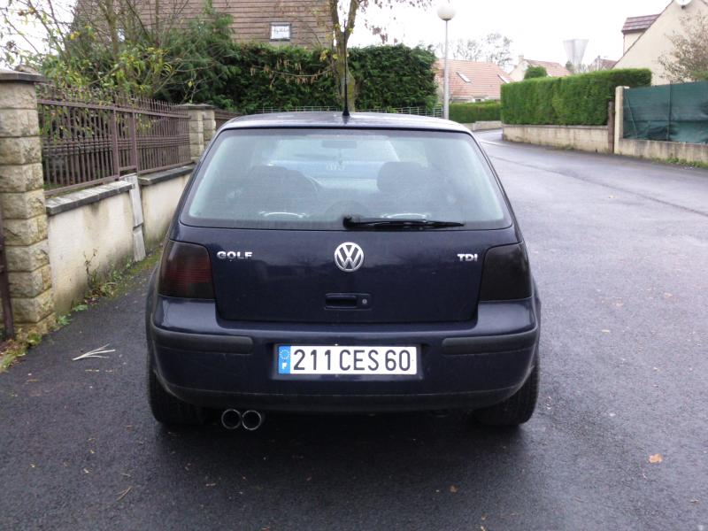 golf iv tdi 90cv de souljathier vendu garage des golf iv tdi 90 forum volkswagen golf iv. Black Bedroom Furniture Sets. Home Design Ideas