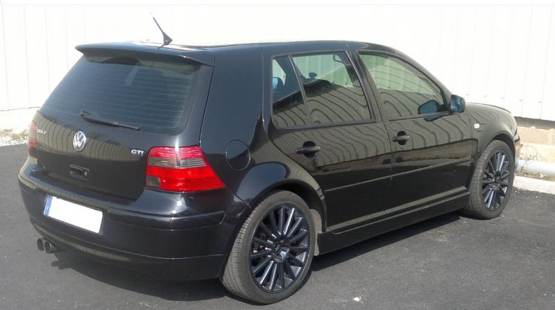 mad maaaxxx golf 4 gti tdi black powwwa look us rabbit. Black Bedroom Furniture Sets. Home Design Ideas