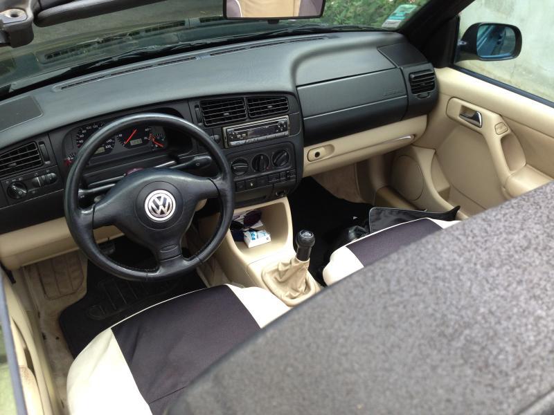 [VW Golf IV Cabriolet] 1.6 Carat - 1998 : Garage des Golf IV 1.6 - 1.6 16v - Forum Volkswagen ...