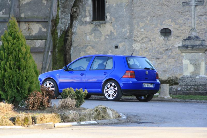 Vw golf iv 1 8t gti match ii de garage des - Entraxe golf 4 ...