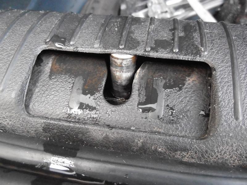 Infiltration d 39 eau coffre arg probl mes int rieurs for Infiltration eau garage