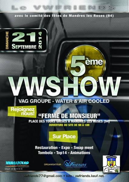 94 mandres les roses 5eme vw show meetings rencards r gionaux internationaux forum - Garage volkswagen creteil ...