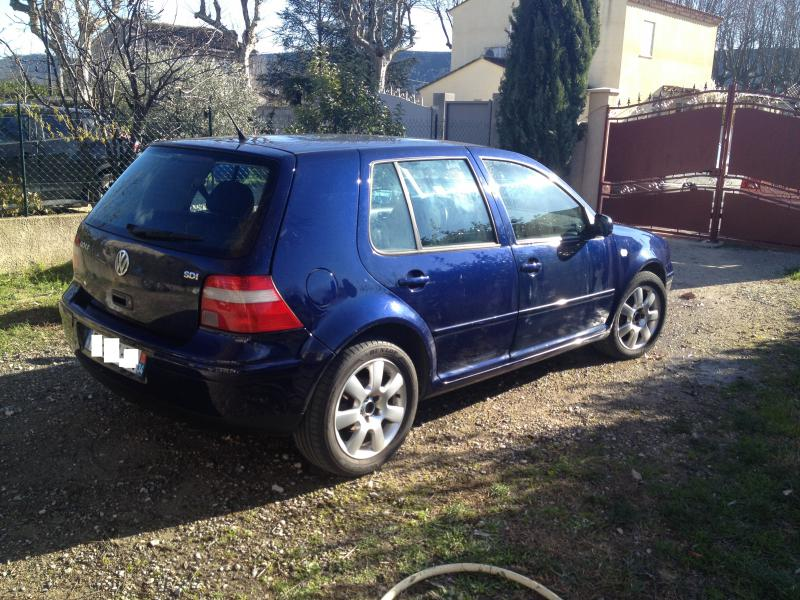 vw golf iv  sdi base